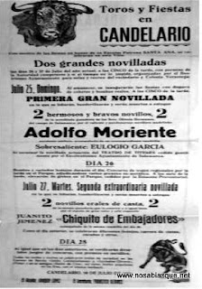 cartel de Fiestas de 1954