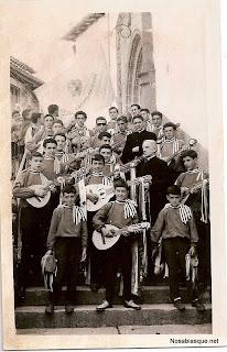 Rondalla de Candelario Salamanca 1965