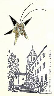 Felicitación navideña de 1973 con la virgen del Castañar