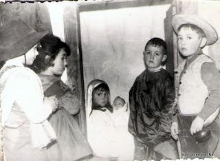 Comedia de las hermanas Vallegera en Candelario Salamanca