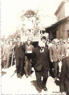 Procesión del Cristo del Refugio en Candelario Salamanca