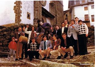 Los quintos de Candelario Salamanca antes de la talla