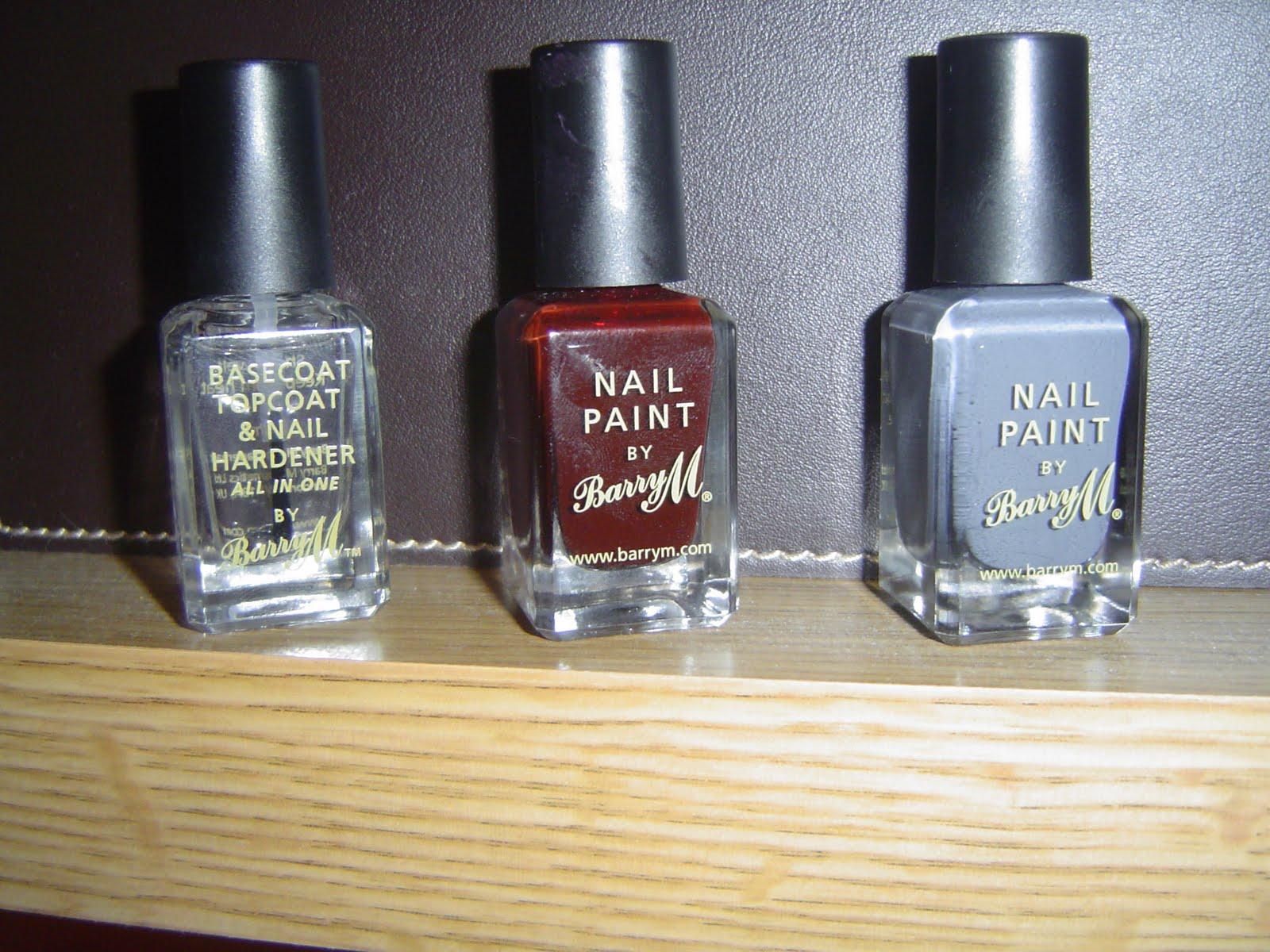 natalieslove: Barry M: Nail Paint