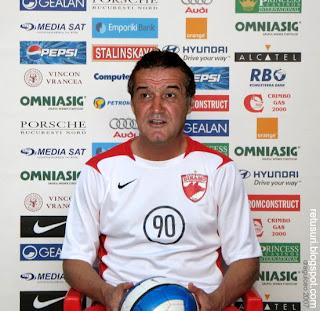 Gigi Becali - Dinamovist
