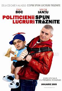 Virgil Iantu si Emil Boc - Politicienii spun lucruri traznite