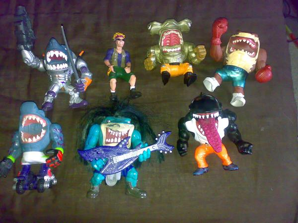 SHARKBITING (^^^): STREET SHARKS: CRIME-FIGHTING HALF MAN ...