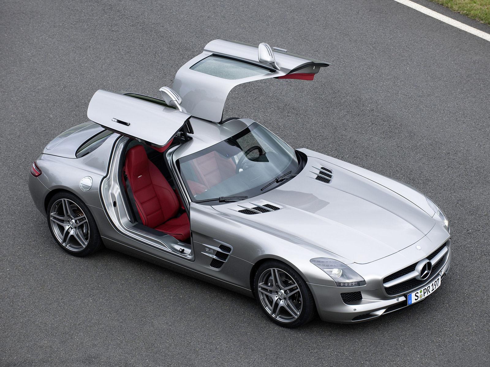 Automotive Picture Mercedes Benz Sls Amg 2011