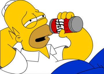 Relaciones de Palabras - Página 3 Homero-duff