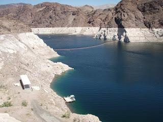 Hoover Dam water level has dropped significantly