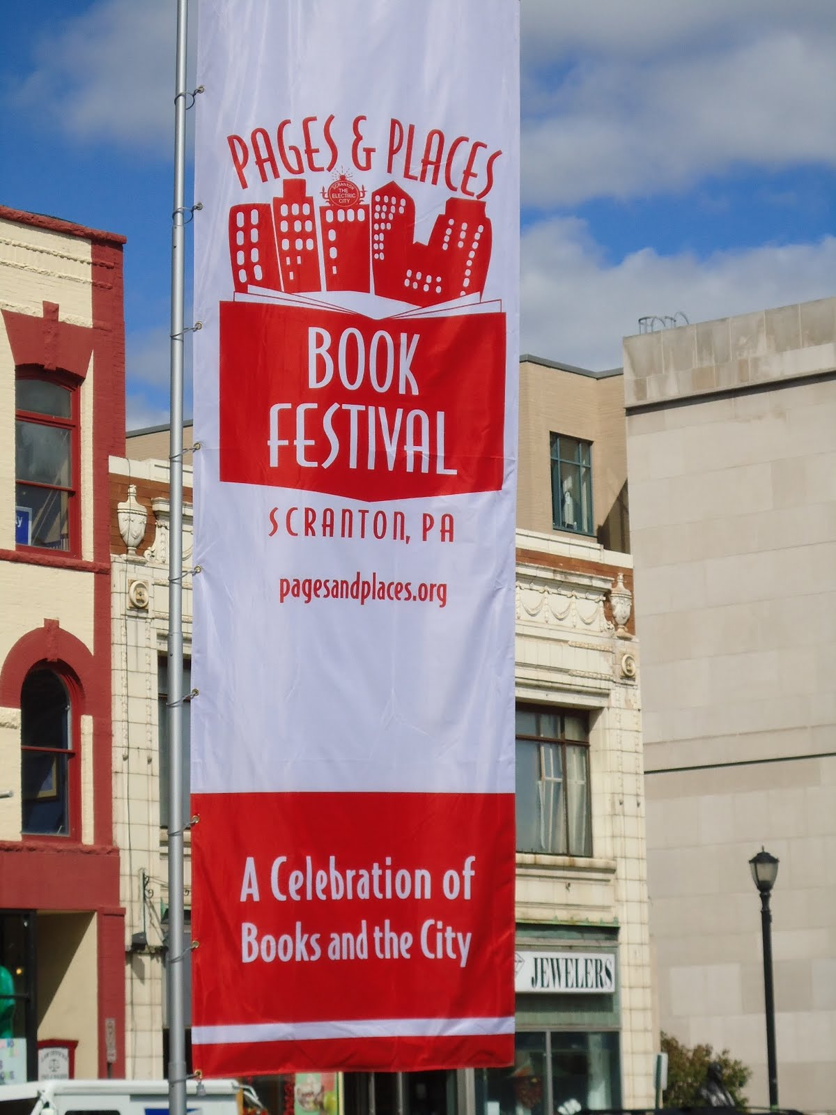 Pages places book festival scranton pa