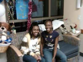 Nadia and Jasmine