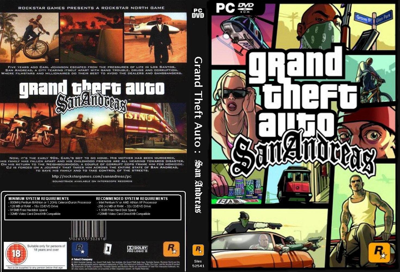GTA SAN ANDREAS ~ superremoking.games