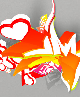 cool graffiti wallpapers. 3d graffiti wallpapers.