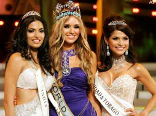 Miss World 2008 Winners