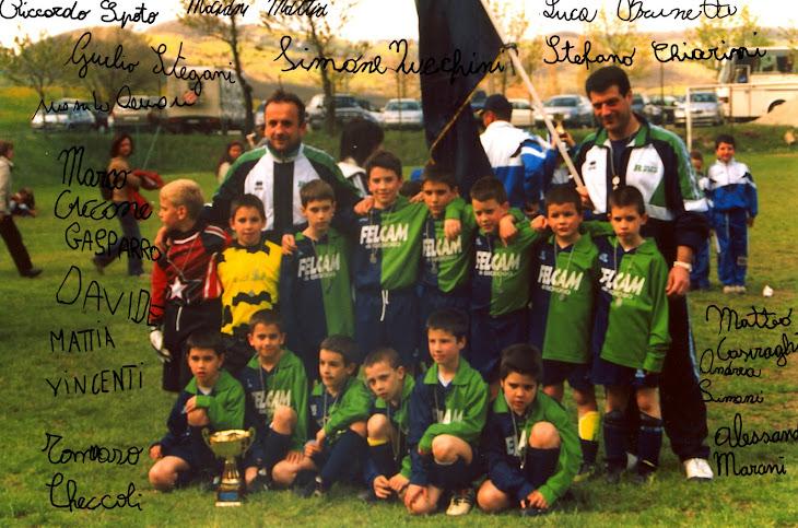 Pulcini 1994/95 Torneo di Sestola 2003