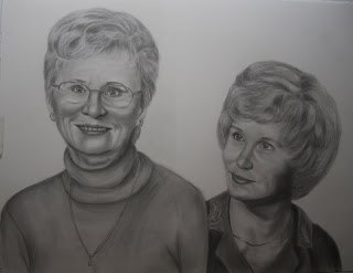 Graphite Pencil Portrait Commission for mother