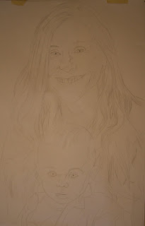 Mother and Child Portrait Commission