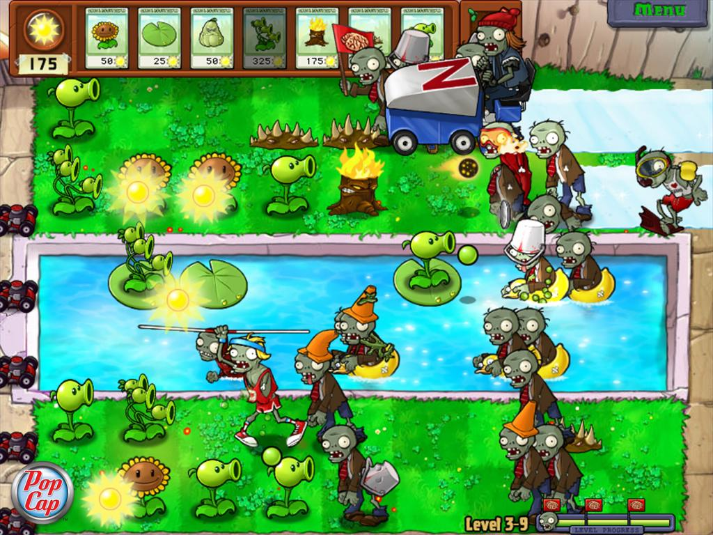 Plants vs. Zombies (PC Game)-Preactivated Plus Cheat