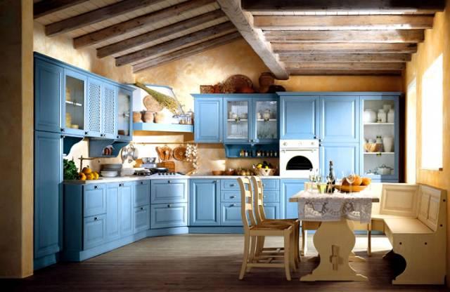 Nel mondo di pimpinella: cucine italiane in stile decapè
