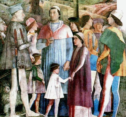 Nel mondo di pimpinella mantova in mondovisione wow for La corte dei gonzaga mantegna