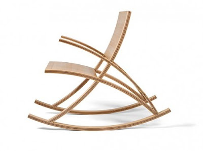 Toby Howes Wishbone Rocking Chair Design