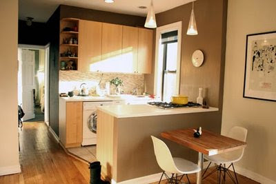 Decorating Ideas For Apartments | Kitchen Layout and Decor Ideas
