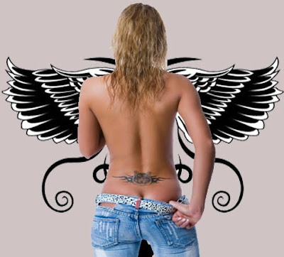 Tatto Ideas on Stylebody Girl Tattoo  Lower Back Tattoo Designs