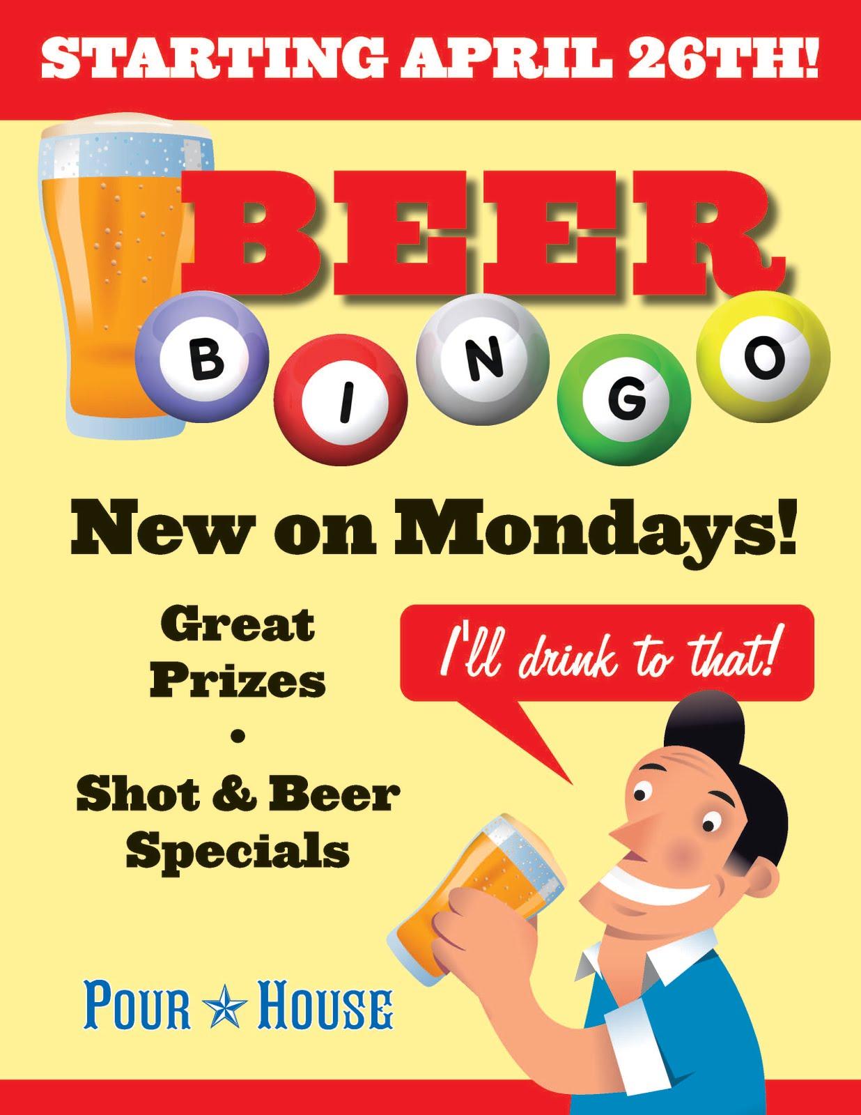 Beer Bingo at bet365 poker deposit bonus Pour House!