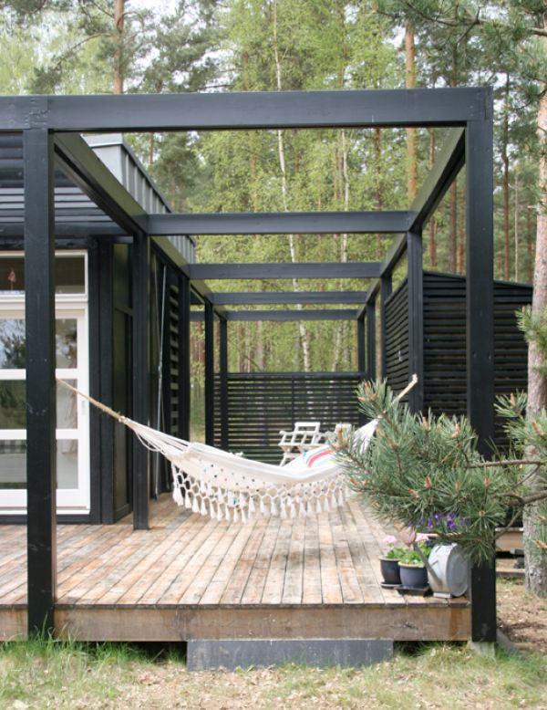 Uteplats uteplats tak : Husprojekt Drömhus: trädäck planeras...