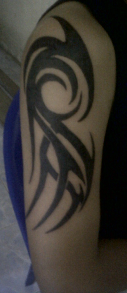 tattoo sadness Tribal Lengan
