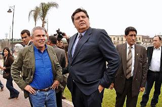 Luis Castañeda y Alan García