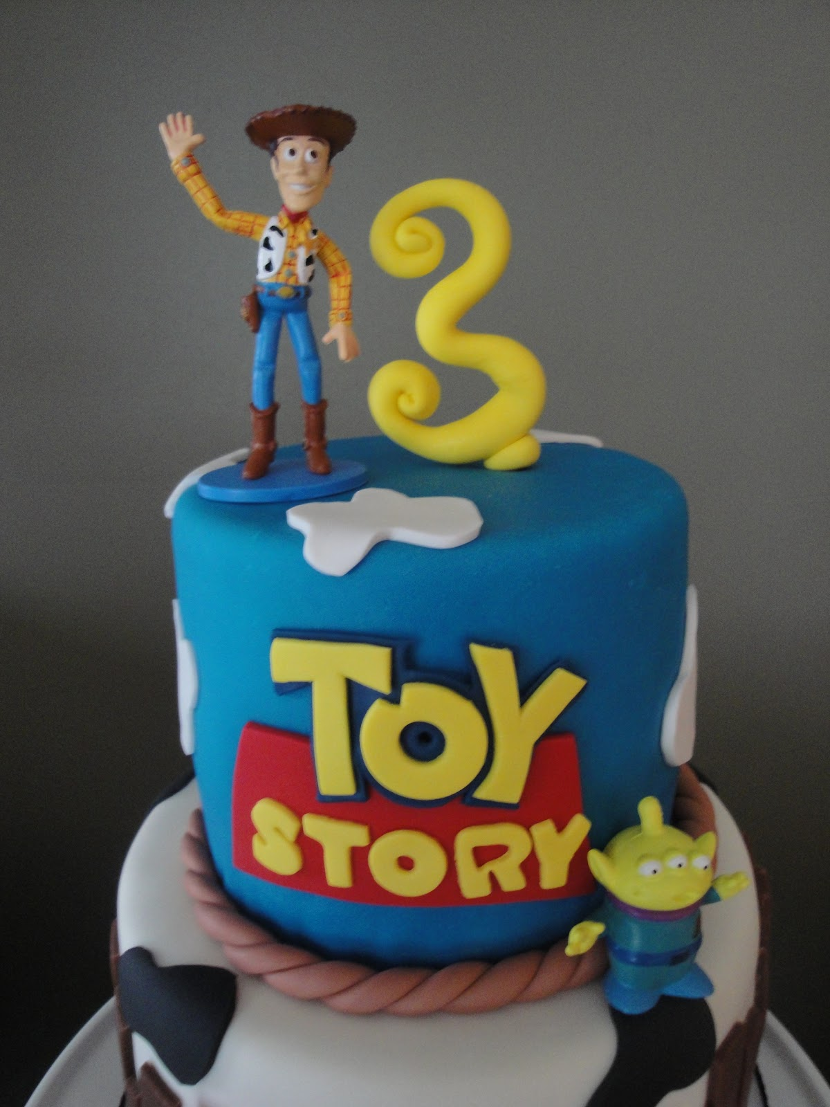Toys For Birthday : Our sweet life toy story birthday cake