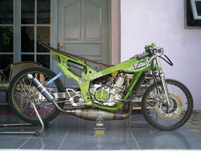 motor drag satria fu 150