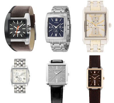 Top Row: Diesel Three Hand Watch, 0, www.nordstrom.com; Fossil's Men's ...