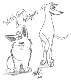 Welsh Corgis & Whippets