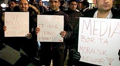 Norway: Motoon protest #2