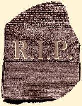 Rosetta Tombstone