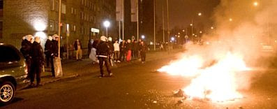 Rosengård: Fires and Police