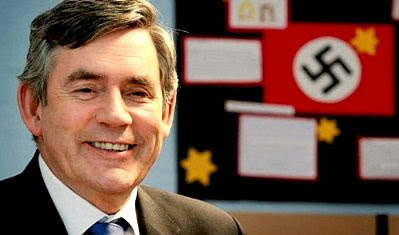 Gordon Brown, Nazi — again!