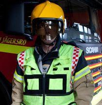 Rosengård fireman