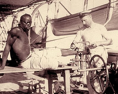 Slave shackle
