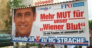 Strache billboard