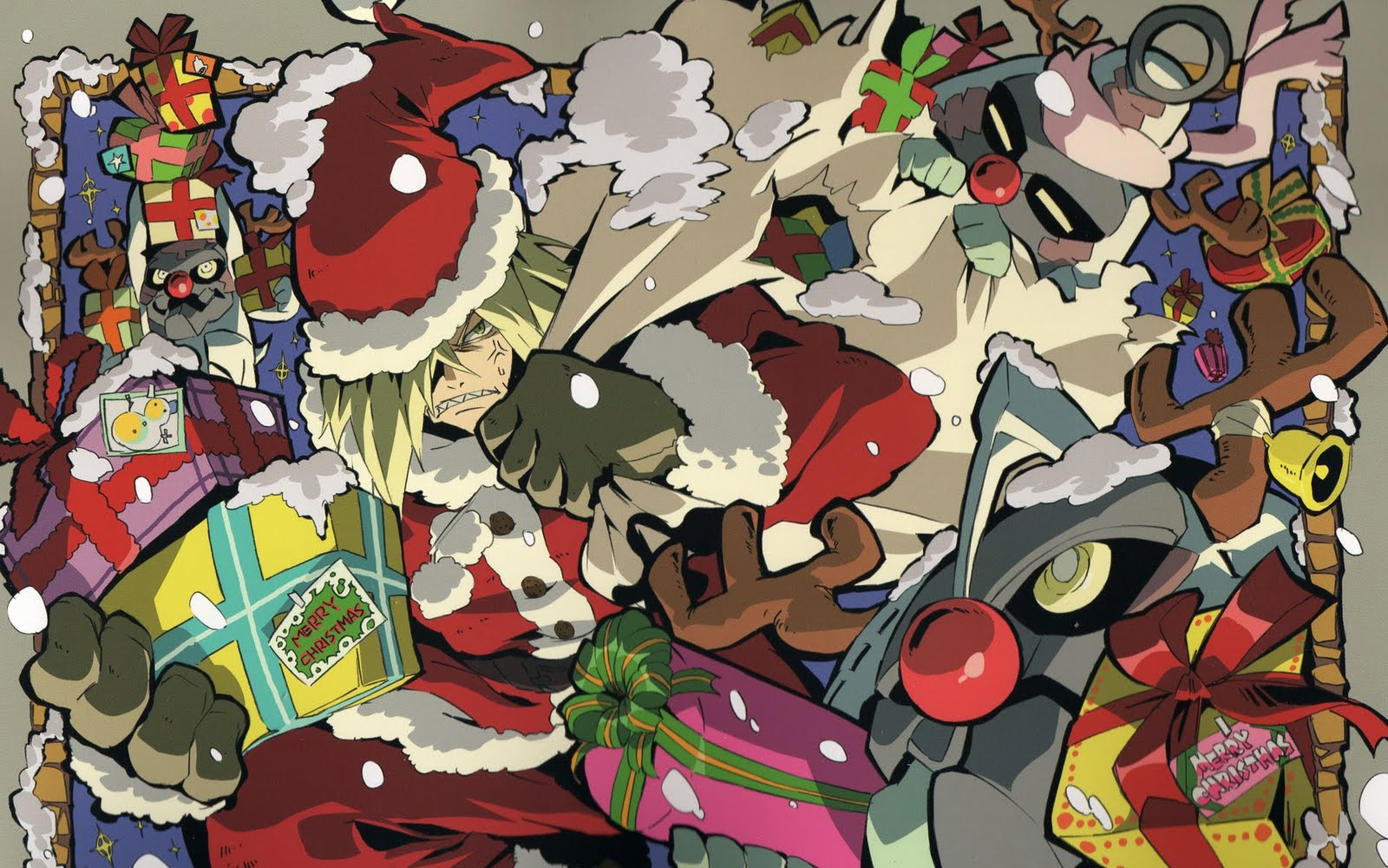 Wallpaper Depot: 15 Anime Christmas Wallpapers