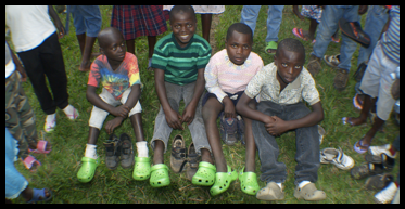 Crocs For Orphan Tots