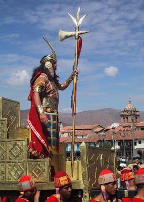 El Inca y su ej?rcito