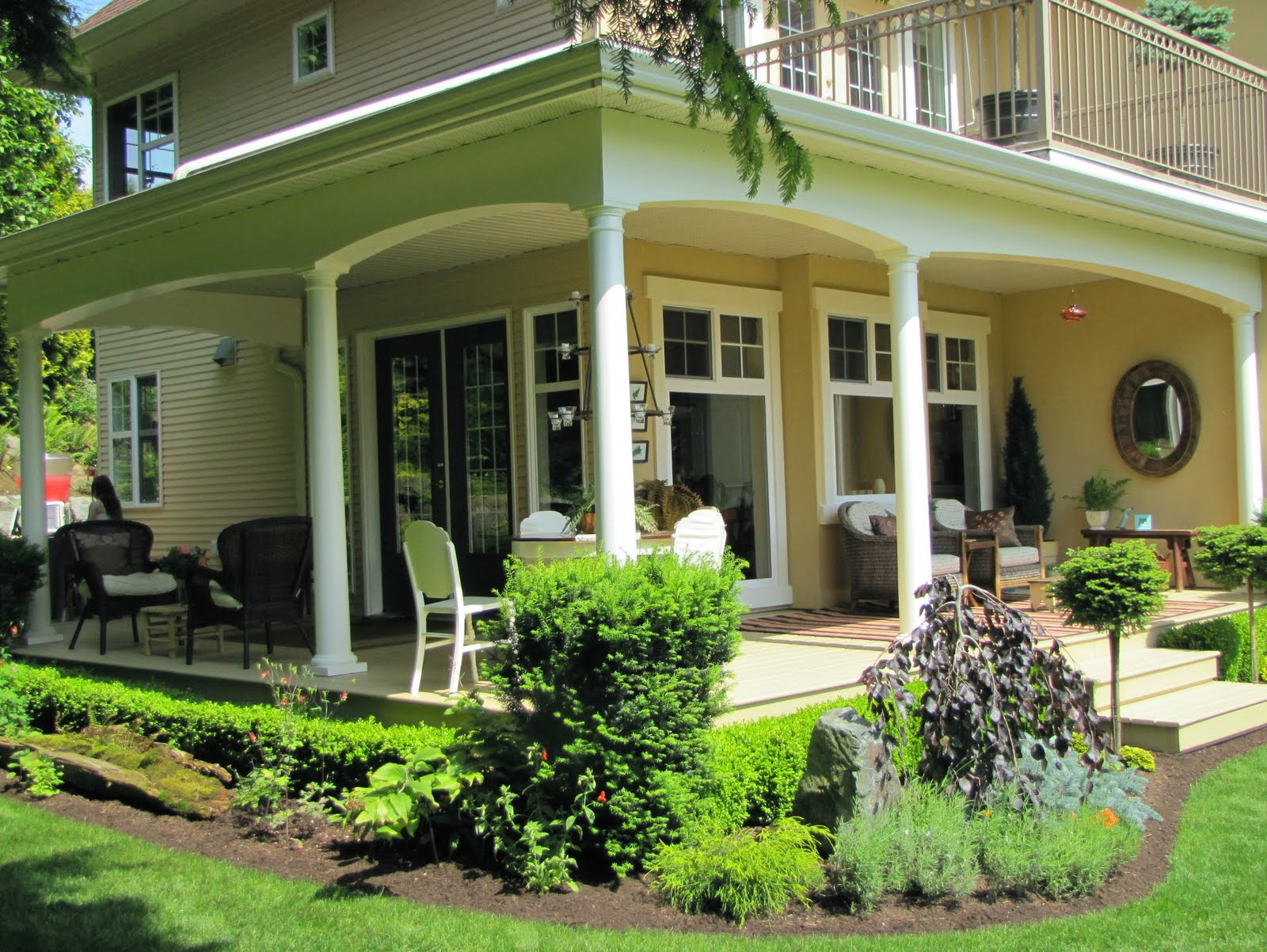 My front porch in praise of porches for Patio porch designs