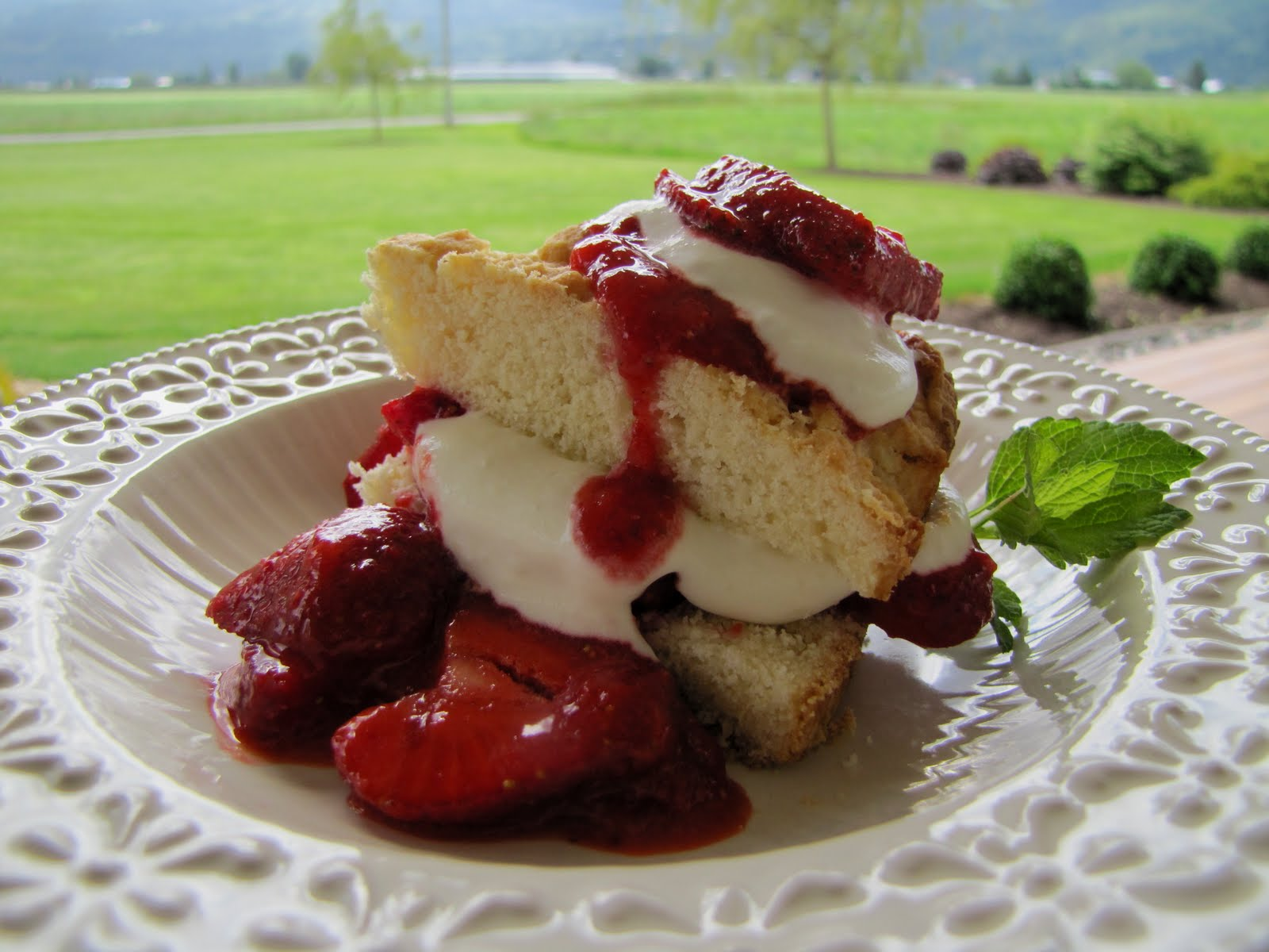 Mennonite Girls Can Cook: Old-fashioned Strawberry Shortcake