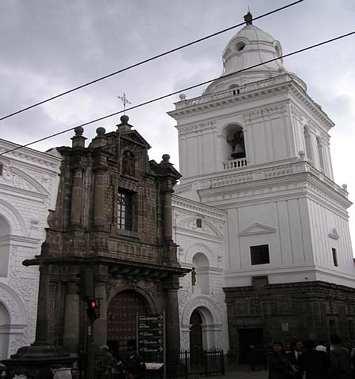 iglesia de san agustin quito: