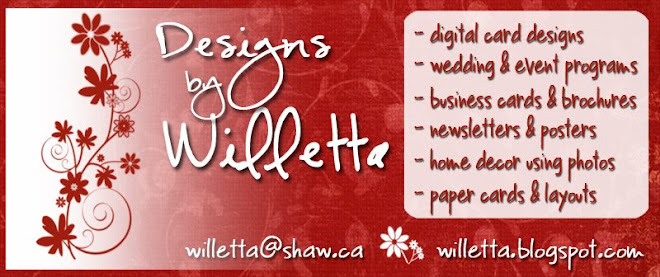 Designs by Willetta