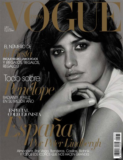 penelope cruz vogue 2010. Penelope Cruz by Peter Lindbergh for Vogue Spain December 2010!